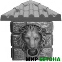 Вставка к столбам Голова Льва К2 К17 S6