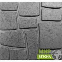 Форма тротуарной плитки 40х40 Львов №20