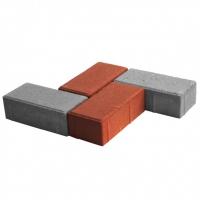 Тротуарная плитка Кирпич 4 см