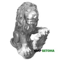 Статуя Лев13 со щитом