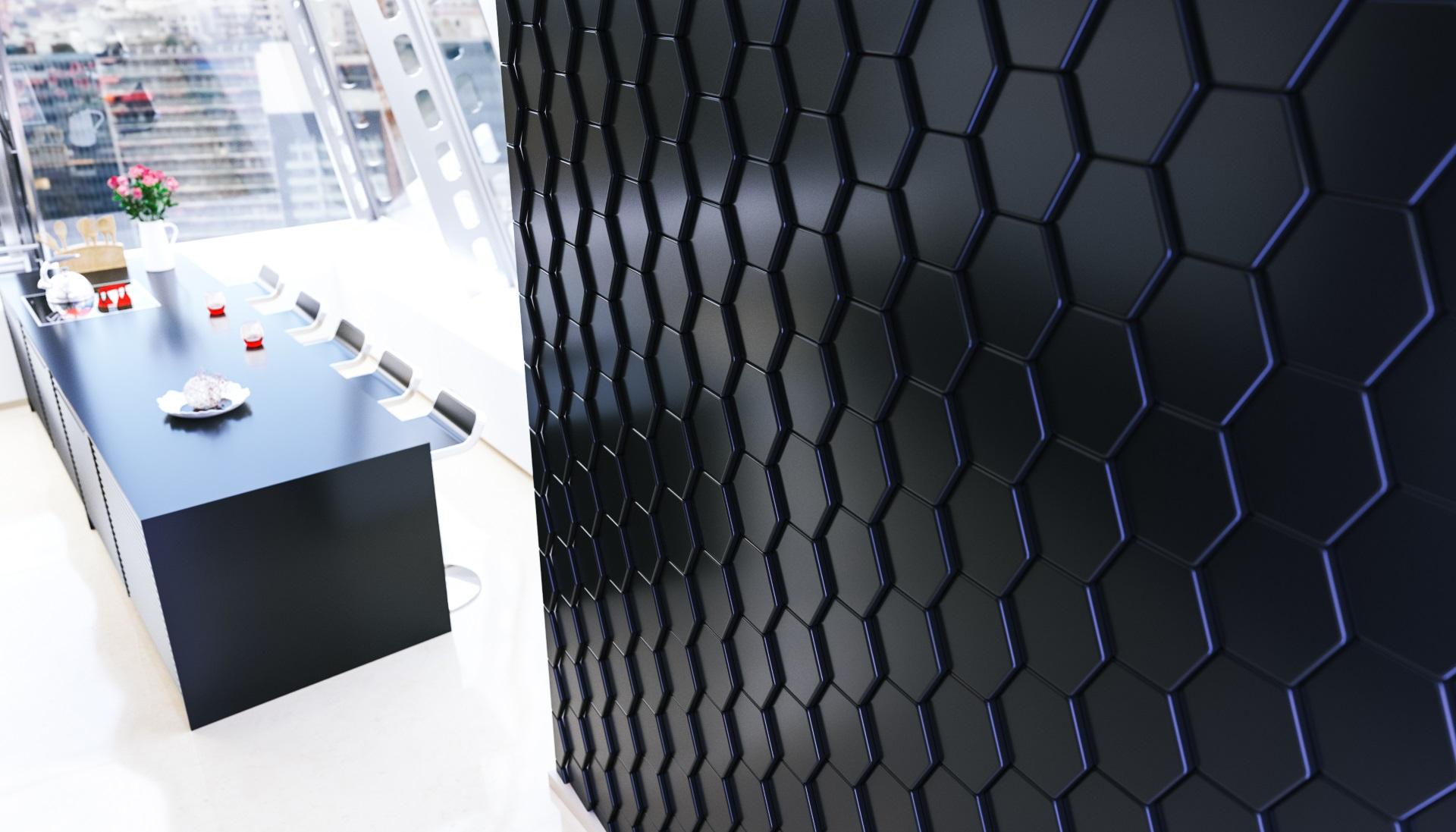 Форма для изготовления гипсовых панелей из АБС пластика