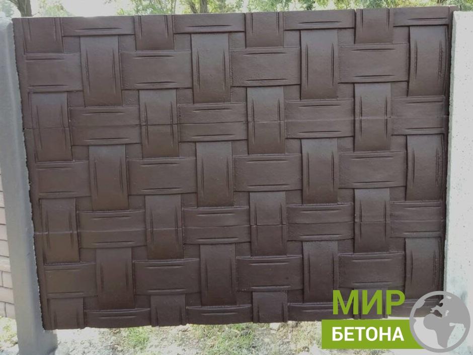 формы для бетонного забора