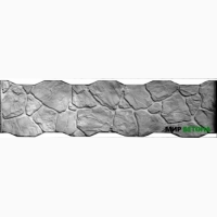 Форма Бутовый камень пазловый