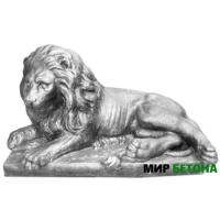 Скульптура Лев4 на отдыхе