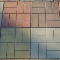 Тротуарная плитка 8кирпичей