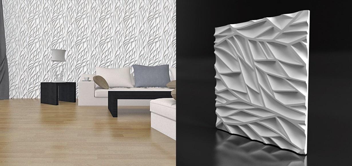 Форма для гипсовых 3D панелей