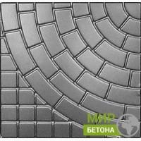 Форма тротуарной плитки 30х30 Львовский тротуар №04