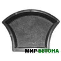 Форма тротуарной плитки Ракушка
