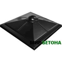 Форма Крышка для столба Четырехскатная с полусферой