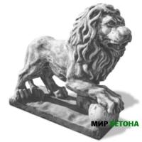 Статуя Лев8 с шаром