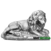 Скульптура Лев5 на отдыхе