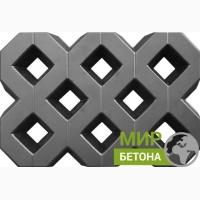 Форма тротуарной плитки Газонная решетка Травница Экоплитка