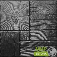 Форма тротуарной плитки 40х40 Дерево №09