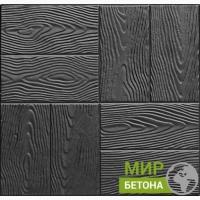 Форма тротуарной плитки 30х30 Дерево №07