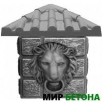 Вставка к столбам Голова Льва К3