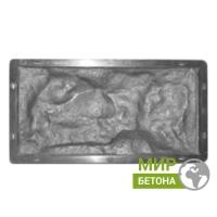 Форма фасадной плитки Рваный камень