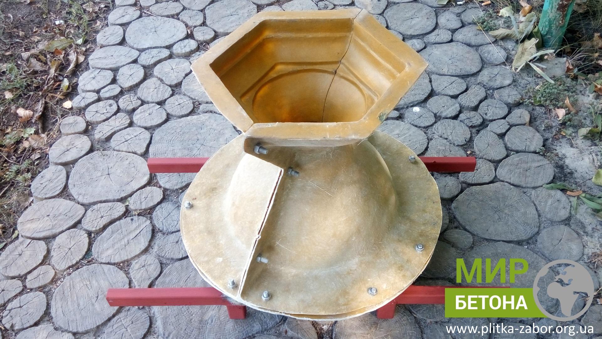 Форма для изготовления вазона из бетона купить цементный раствор для половой плитки